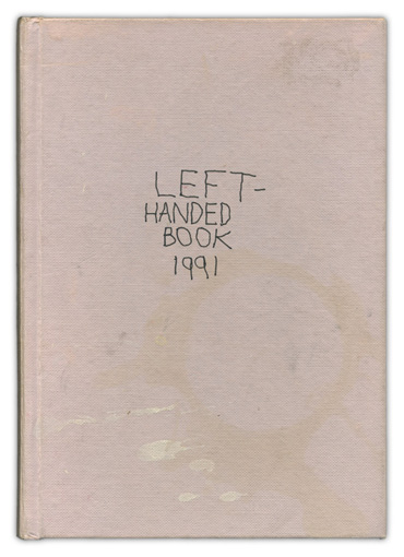 Andrew Stones - 'Left-Handed Book'. Journal of a visit to Australia, 1991.